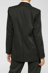 Business As Usual Blazer - Black/White