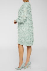 FEELING ALL FUZZY DRESS-MINT