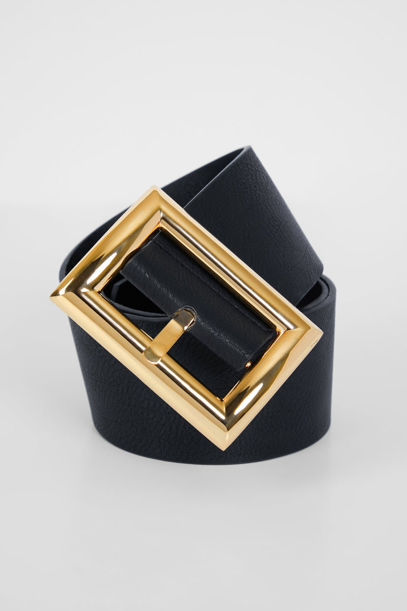 Buckle Up Belt - Gold