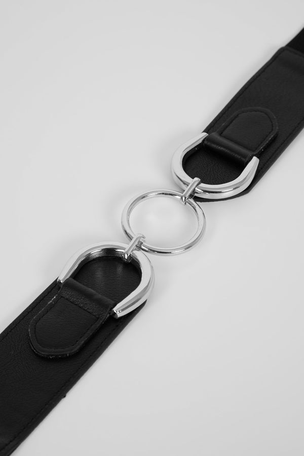 Circling Around You Belt - Silver