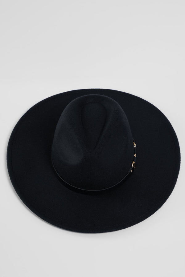 Buckle Down Hat - Black