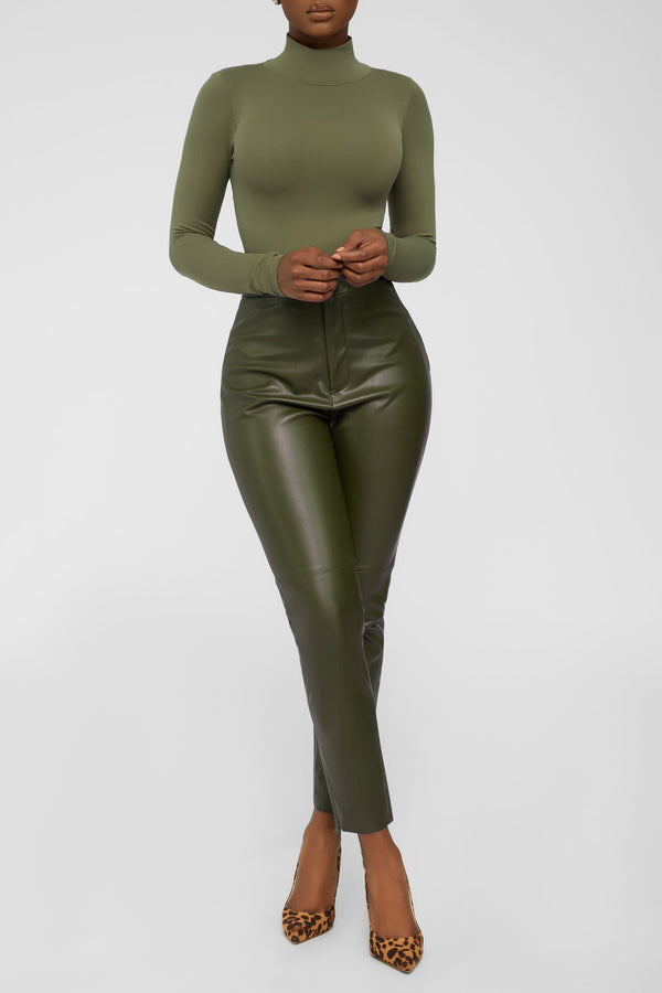 Stay Smooth Bodysuit - Olive