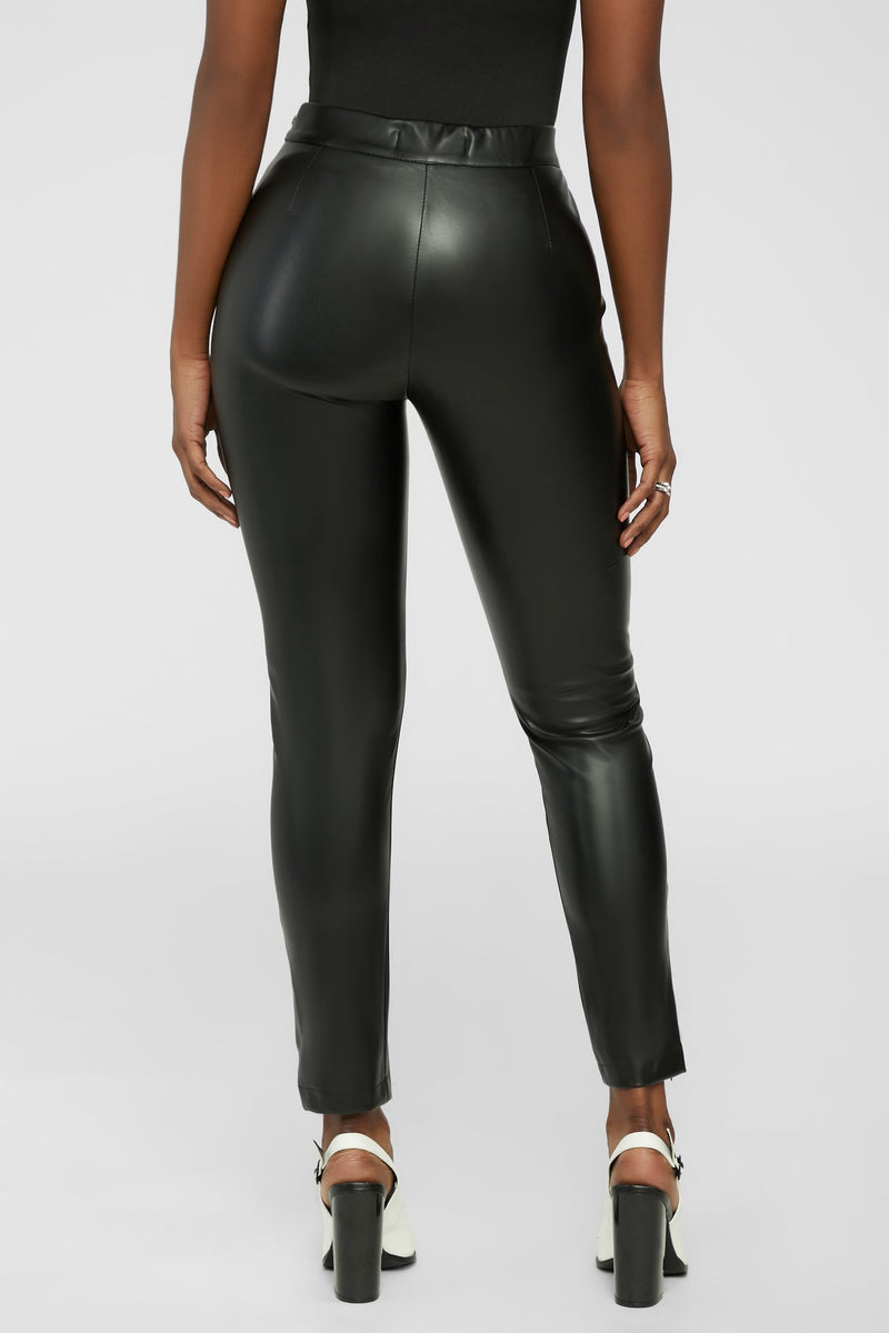 Favorite leather pants - Black