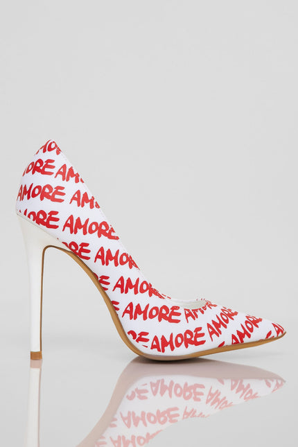 Everlasting Love Heels (Red)