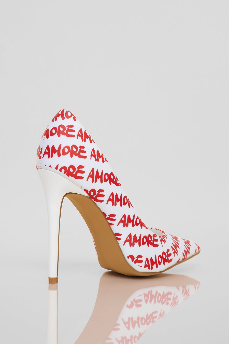 Everlasting Love Heels (White)