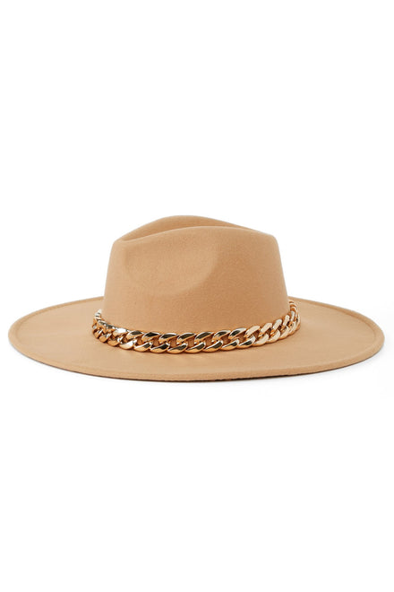 Chain Of Events Hat - Tan