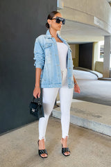 Rich And Ripped Jeans - White