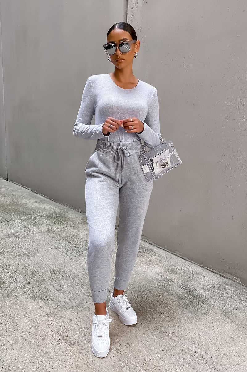 On The Go Joggers- Gray