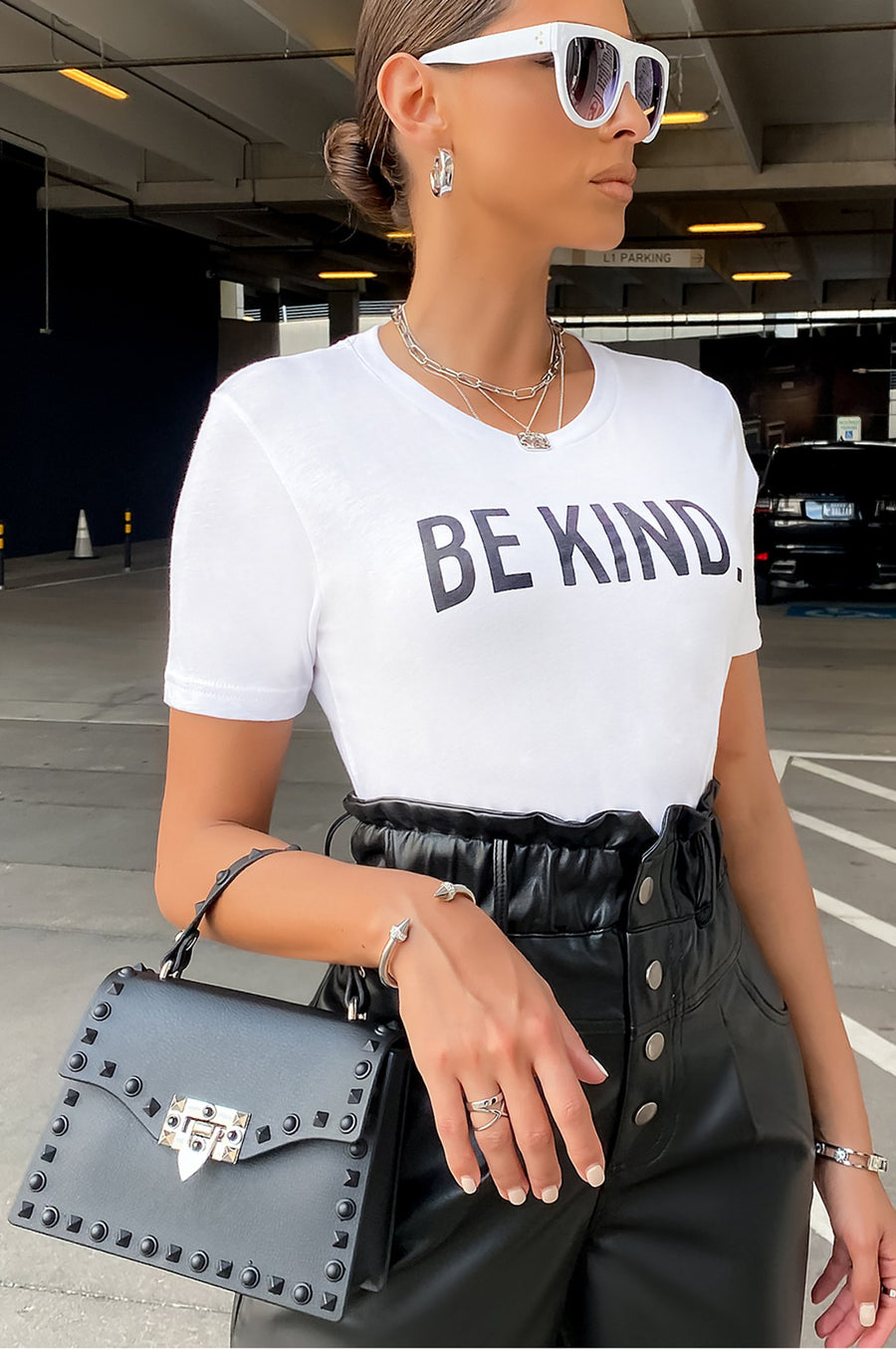 Be Kind Top - White [PRE-ORDER 11/17]