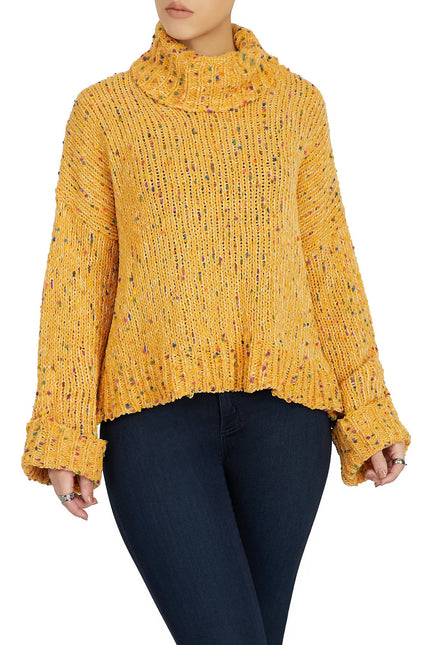 Sheer Intentions Top (Mustard)