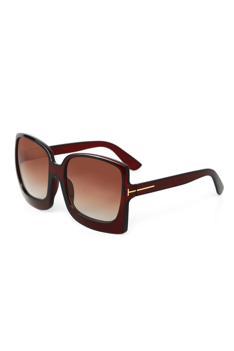 Big Dreams Sunglasses - Brown
