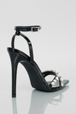Like A Diamond Heels (Patent Black)