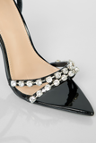 Like A Diamond Heels - Black