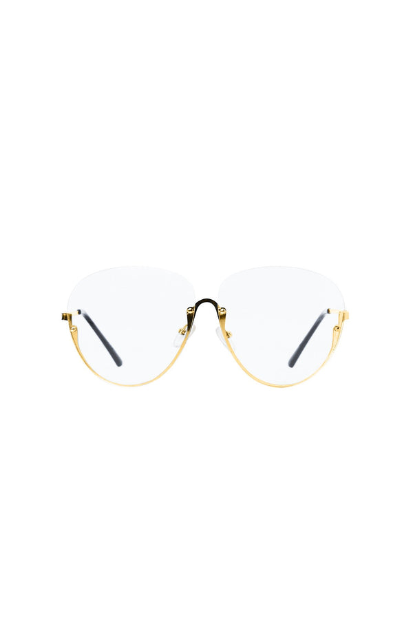 Top Of The Charts Glasses - Gold