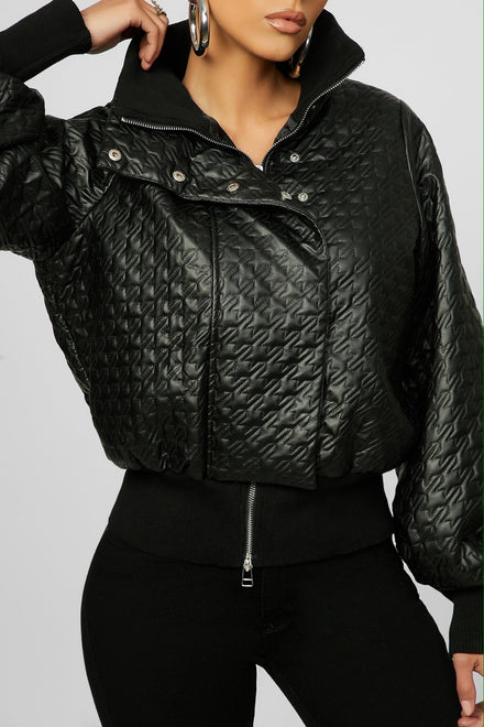 Keeping It Cool Bomber (Black)