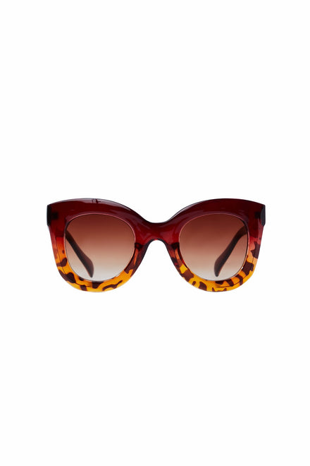 Style And Profile Sunglasses (Brown)