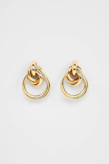 Tying The Knot Earrings (Gold)