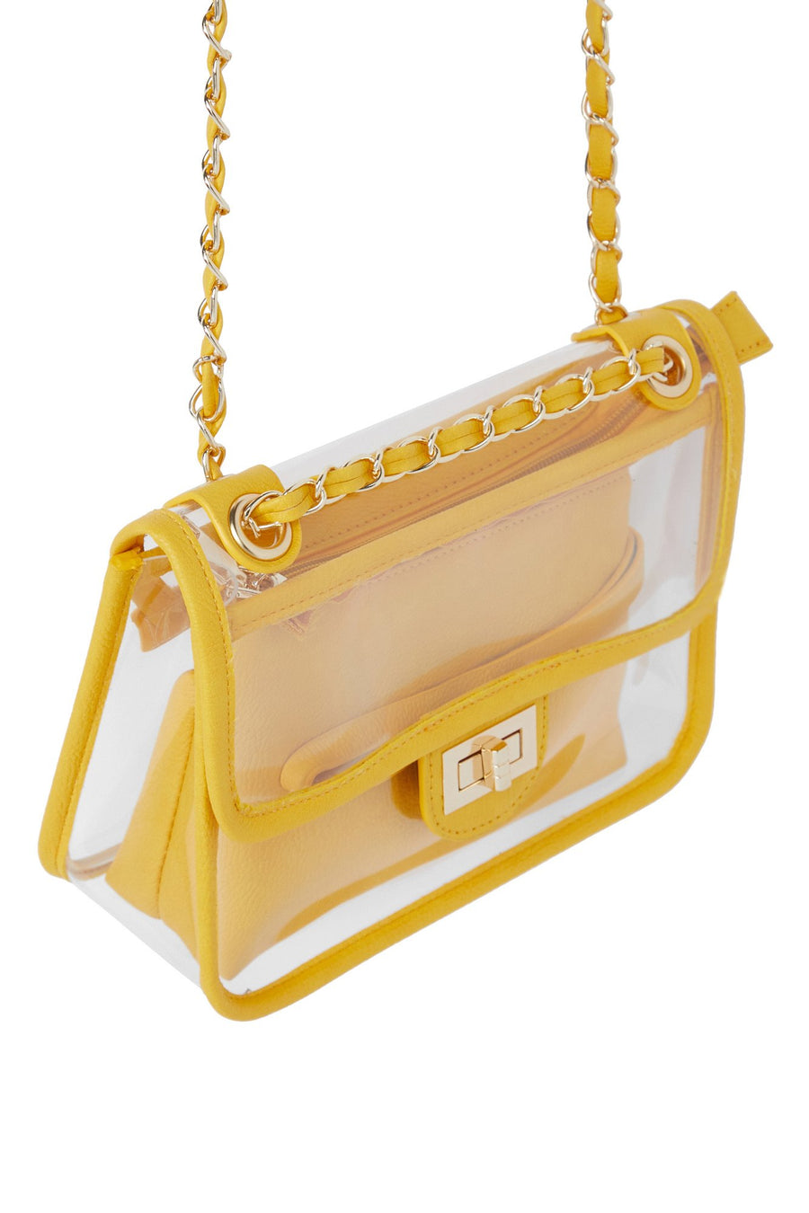 Seeing Things Clear Bag - Mustard