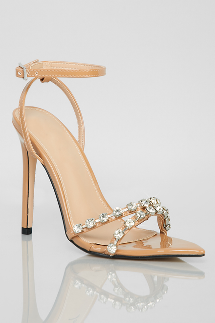 Like A Diamond Heels (Patent Nude)
