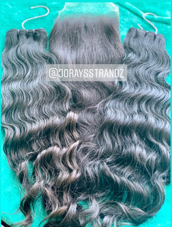 2 bundle Lux Waves + Free 5x5 Closure