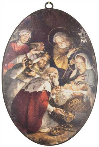 Nativity Ornament/Vertical