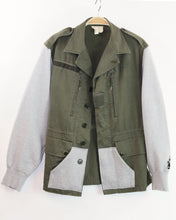 Load image into Gallery viewer, French Army M64 Jacket with Fleece Sleeves, Size M