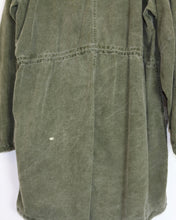 Load image into Gallery viewer, Vintage 60's US Army Gas Protective fishtail parka. (Unisex)