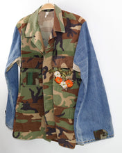 Load image into Gallery viewer, Combat Field Jacket with Embroidery