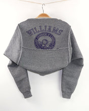 Load image into Gallery viewer, Sweatshirt Shrug - WILLIAMS