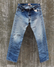 Load image into Gallery viewer, Levi's 501 Patched with Japanese Boro, Men's waist 32-Womens 30/L