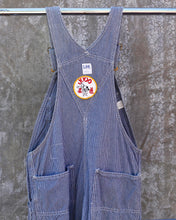 "Load image into Gallery viewer, All American Railroad Stripe Overall_Lee / Union Made- Size 36"" (Unisex)"