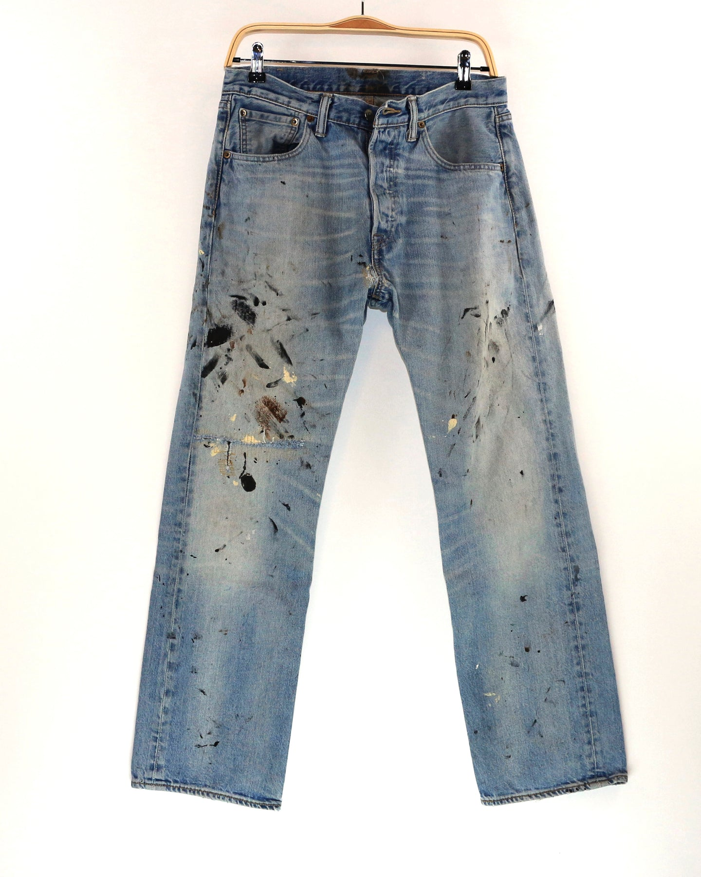 Vintage Levi's 501 Painter's Jean, Men's waist 32x29, (Unisex)_Women's 30