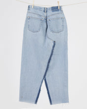 Load image into Gallery viewer, Denim Jean Pencil Skirt, Waist 27""