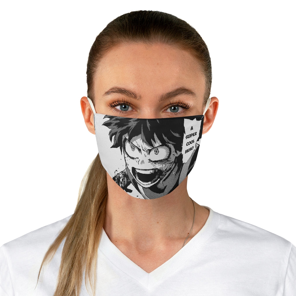 My Hero Academia Fabric Face Mask