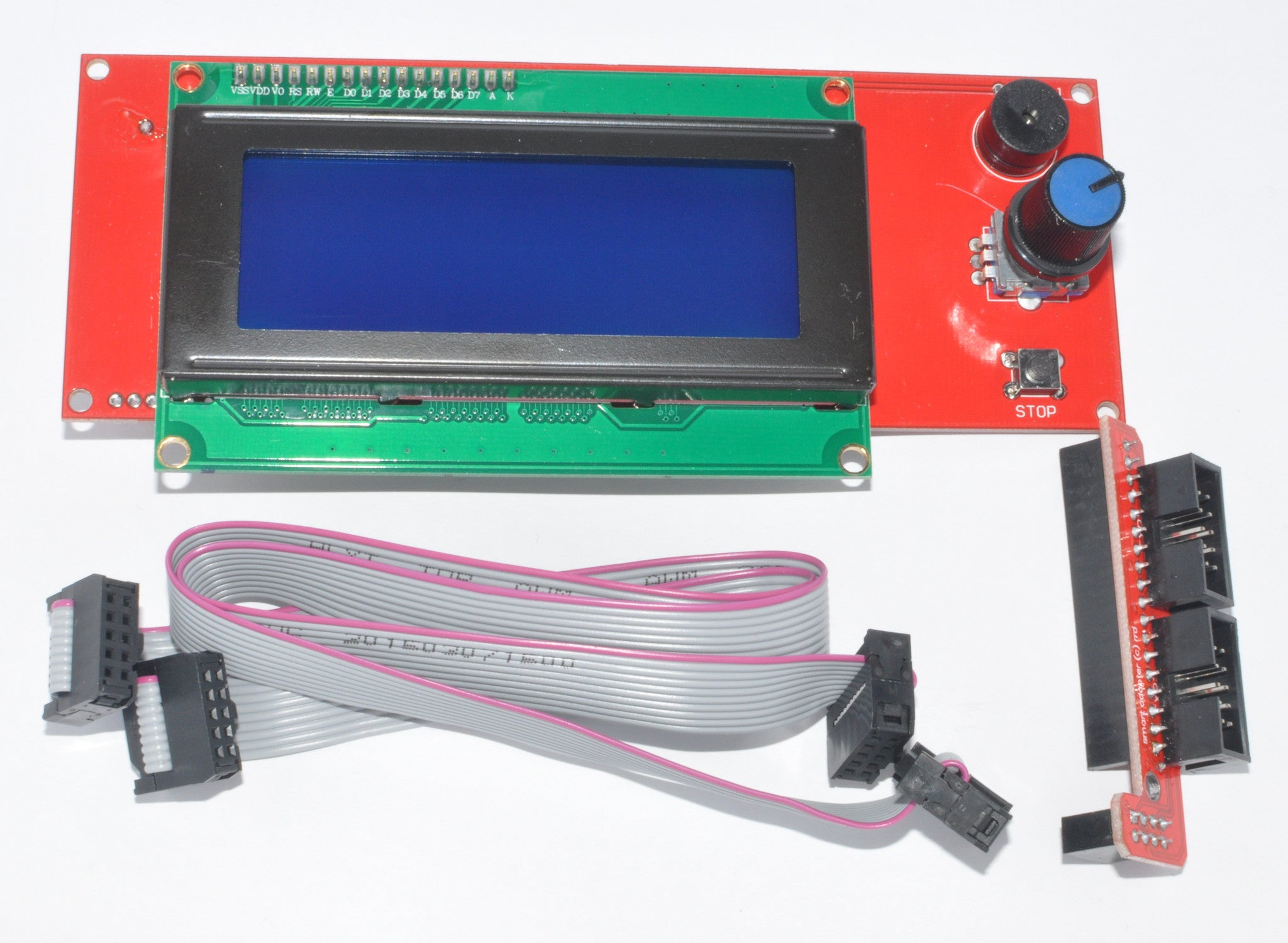 Standalone printer controller for RAMPS (LCD+Encoder+SDCard Reader)