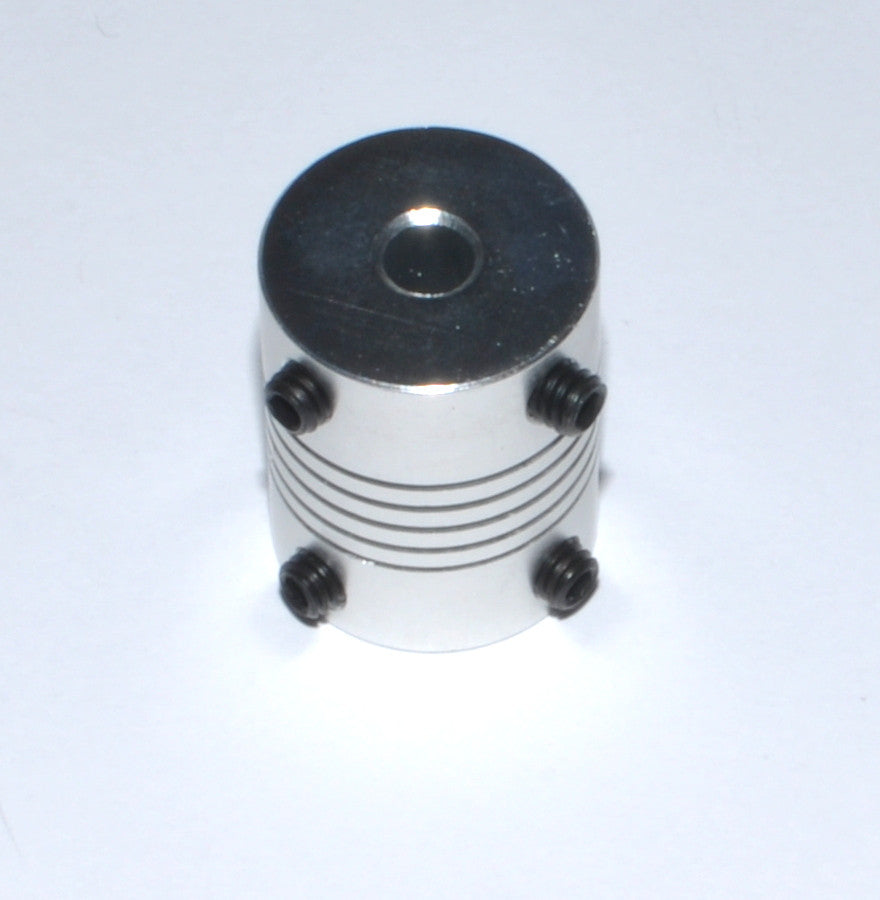 Stepper Motor 5x5x25mm Flexible Coupling Coupler