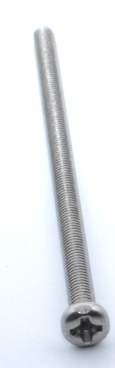 M3x60mm Stainless Steel Phillips Pan Head Machine Screw