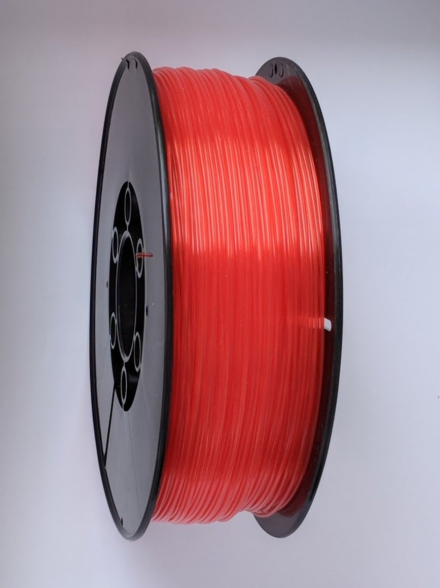 3D Printing Filament - 1.75mm PLA Crystal Red 1kg