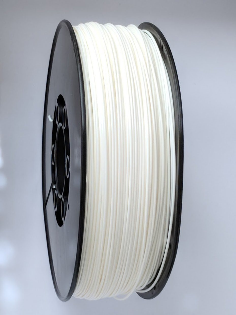 3D Printing Filament - 1.75mm PLA Snow White 1kg