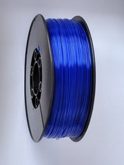 3D Printing Filament - 1.75mm PLA Crystal Blue 1kg