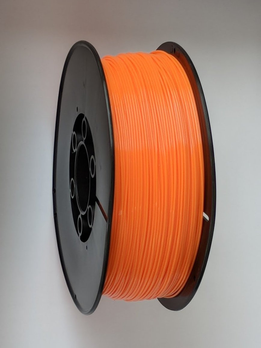 3D Printing Filament - 1.75mm PLA Orange 1kg