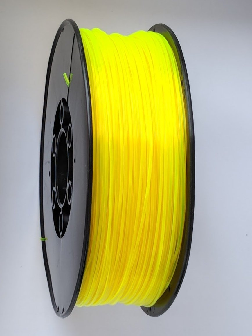 3D Printing Filament - 1.75mm PLA Neon Orange 1kg
