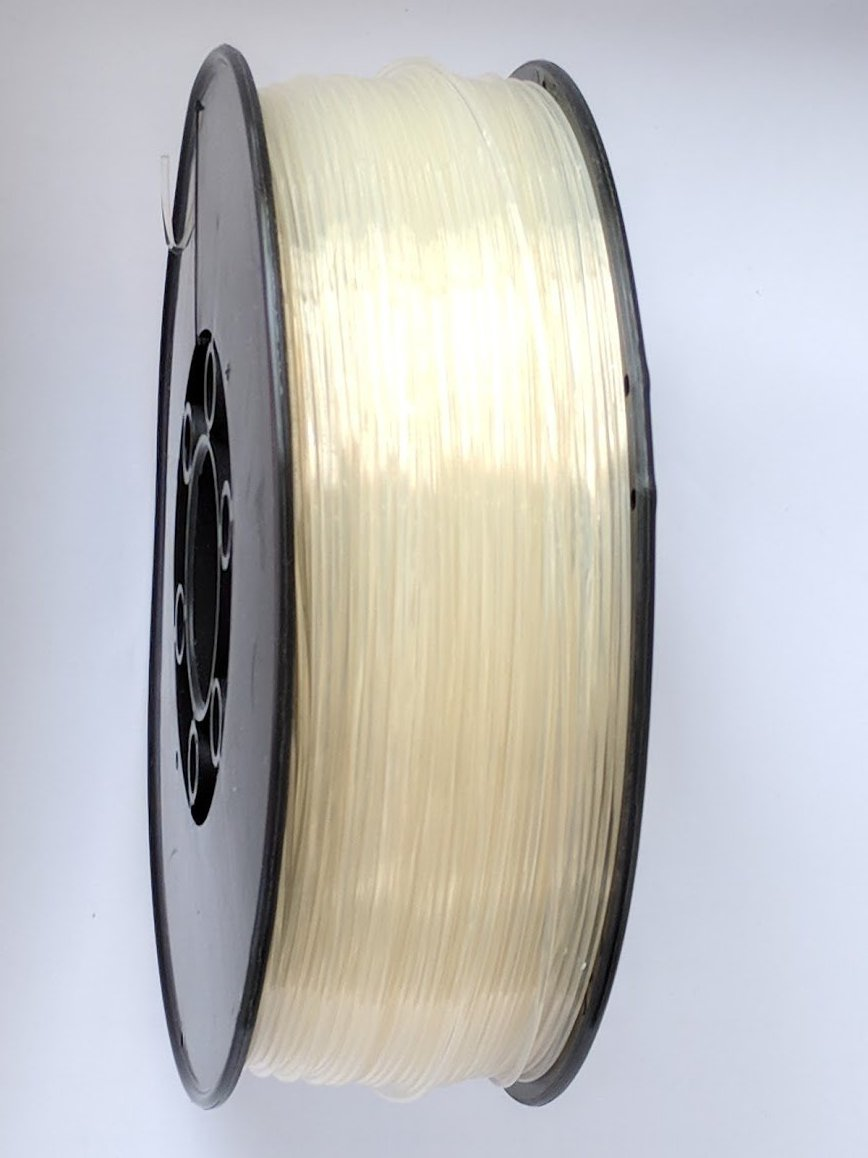 3D Printing Filament - 1.75mm PLA Transparent 1kg