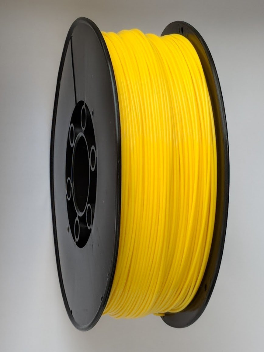 3D Printing Filament - 1.75mm PLA Yellow 1kg