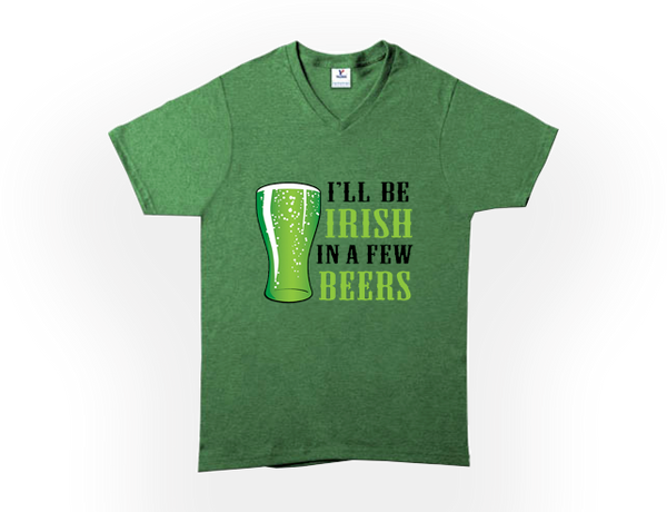 MENS ST. PADDY'S DAY CREW NECK TEES - XTRA SIZES