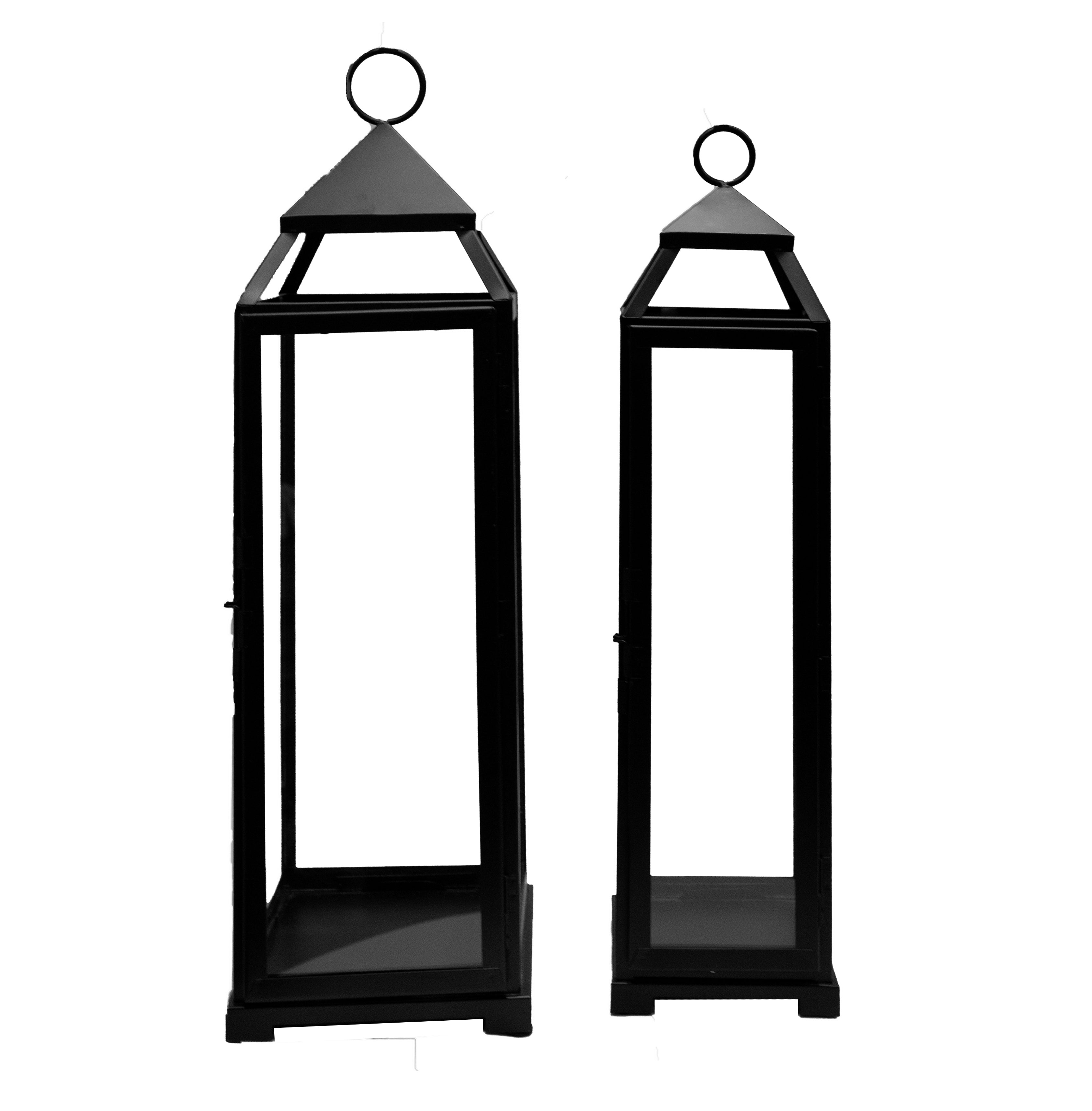 Large Black Lanterns (Various Sizes)