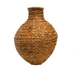Large Wicker Floor Vase