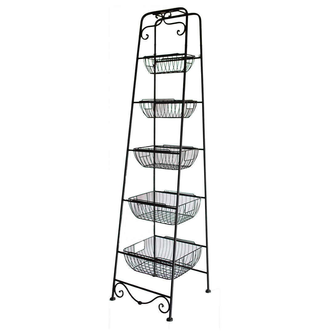 Metal Ladder with Holders