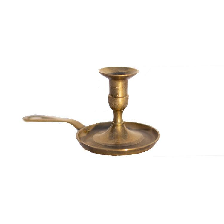 Candlestick Holder With Handle