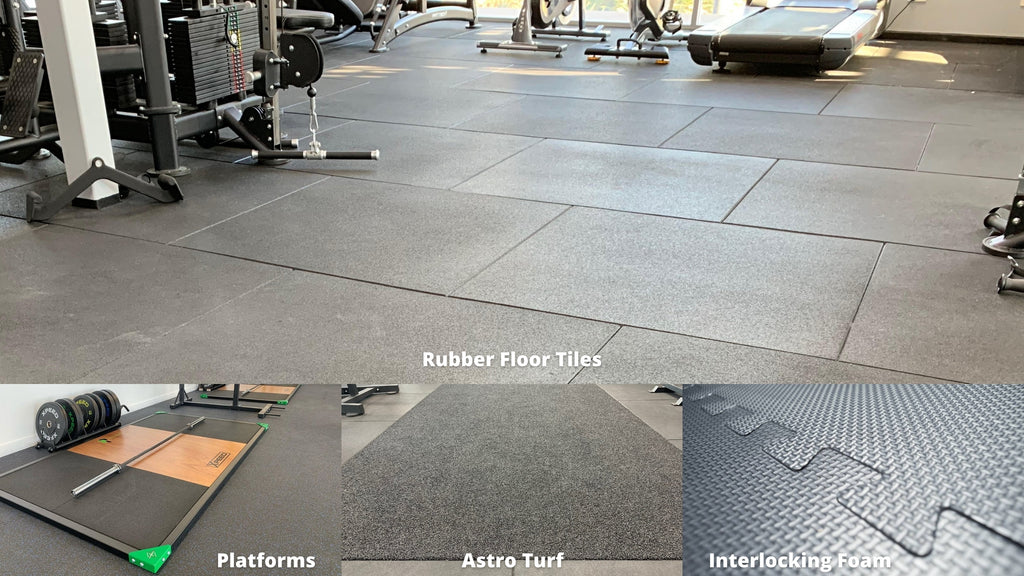 Xpeed Gym Floor Options